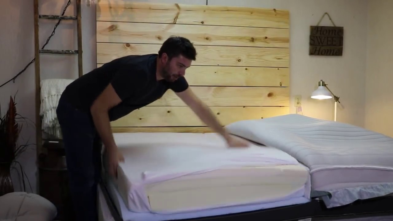 Luxi Mattress Demo Adjusting Firmness S At Home Review