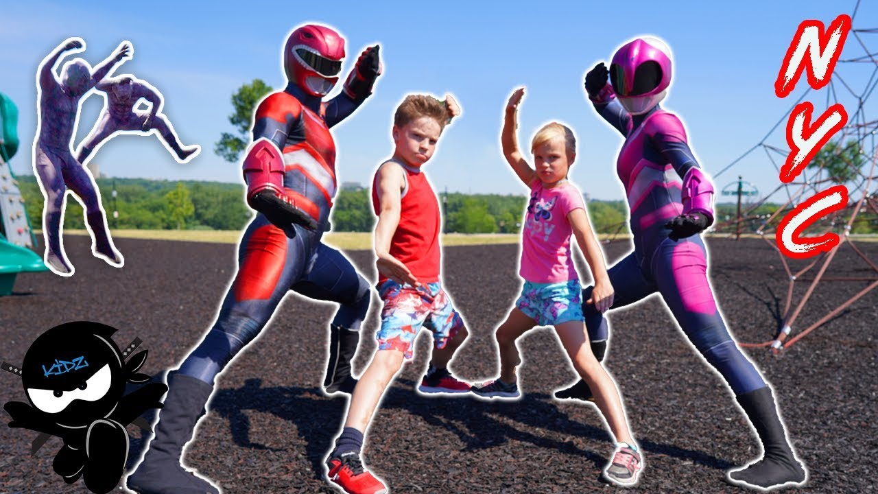 Download Power Rangers NINJA KIDZ NYC Adventure!
