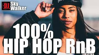 100% Hip Hop RnB Dancehall 2000s Mix | DJ SkyWalker #78