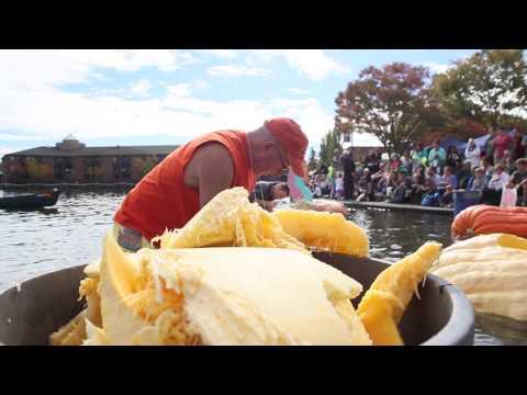 Behind the regatta: Watch one man make a giant pumpkin boat