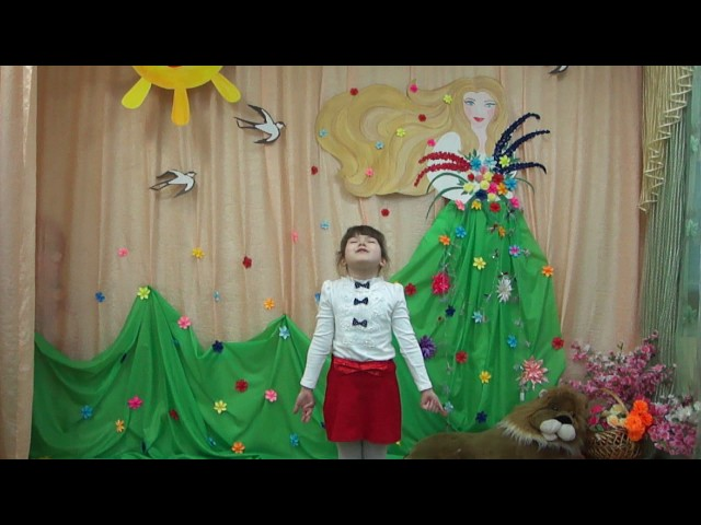 Изображение предпросмотра прочтения – АленаСуворова читает произведение «Весна (Зима не даром злится…)» Ф.И.Тютчева