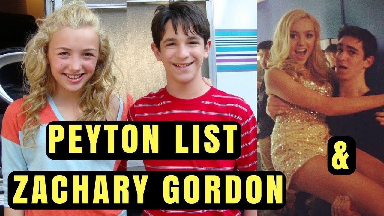 Peyton List and Zachar...