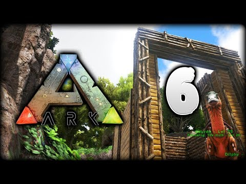 ARK Survival Evolved | LEVEL 49 Parasaur Taming! Dino Pen | ARK Gameplay/Let's Play [S1 - Episode 6]