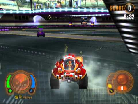 Motor Mayhem Vehicular Combat League Ps2 Gameplay Youtube