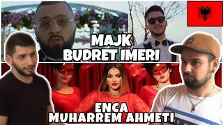 "Germans react to Albanian Music -ENCA x MUHARREM AHMETI ""HAJDE"" & MAJK x BUDRET ..."