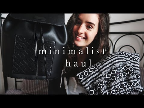 Minimalist Haul | Ethical, Vegan & Thrifted