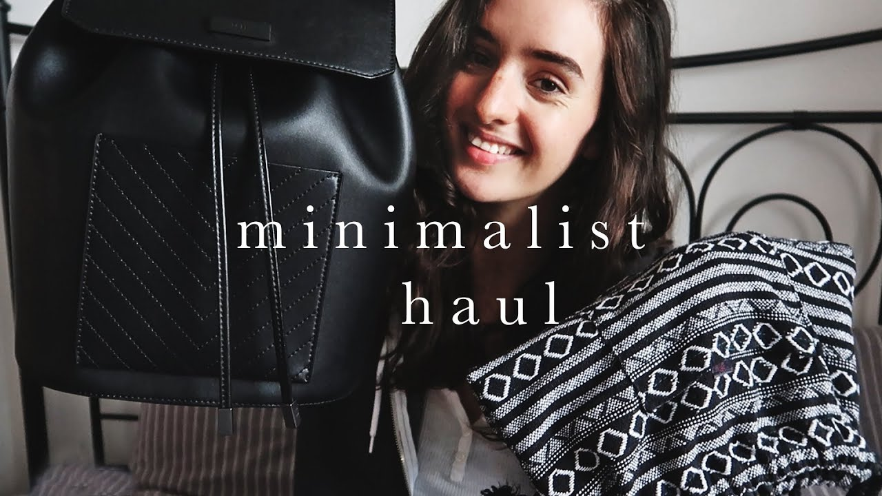 Minimalist Haul   Ethical, Vegan & Thrifted