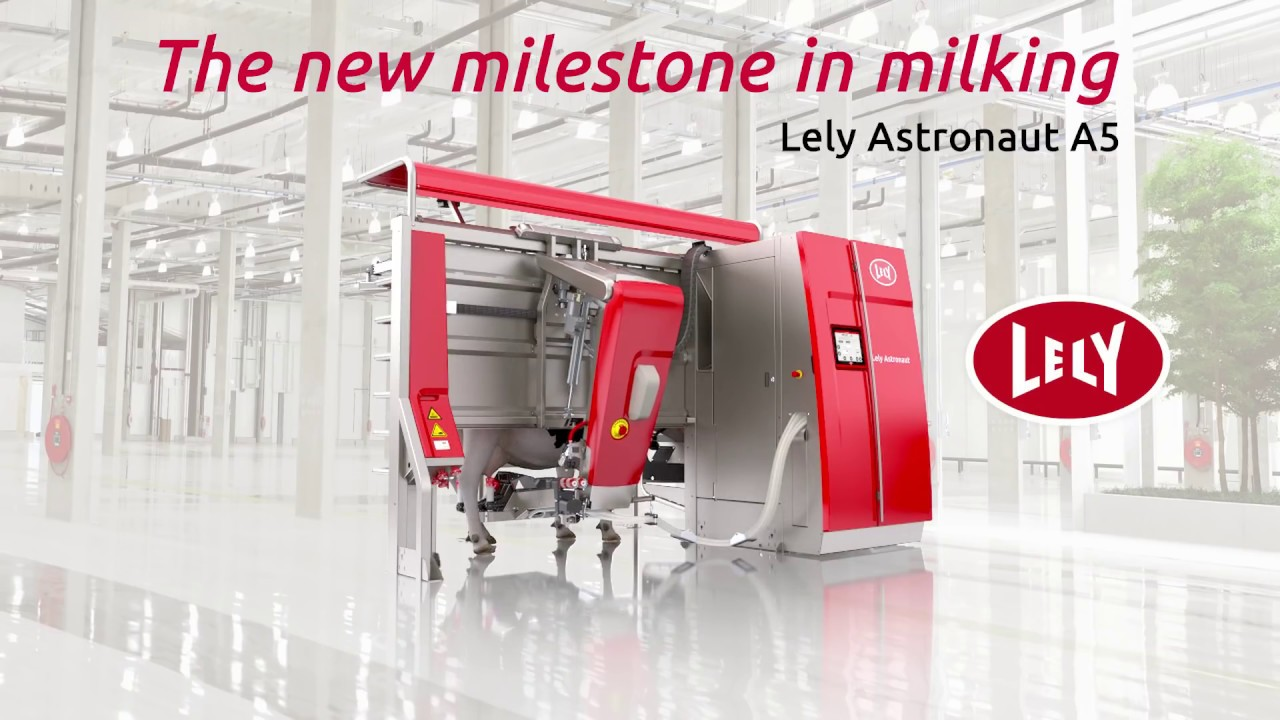 Lely Astronaut A5 - The new milestone in milking