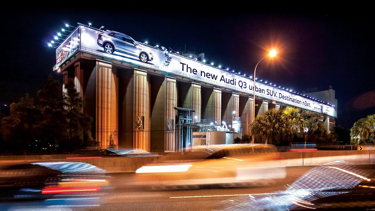 Audi Of Melbourne >> oOh! Landmark Series - Glebe Island Silos - YouTube