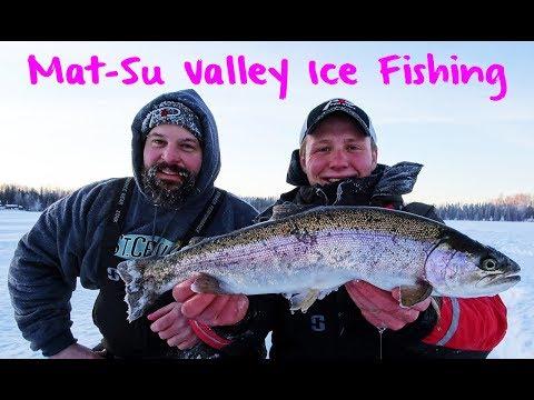 Mat Su Valley Ice Fishing