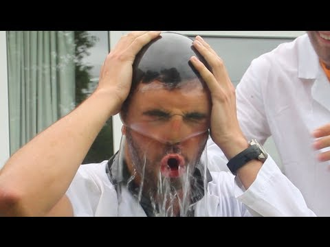 Water Condom Head Balloon - The Slow Mo Guys