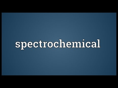 Header of spectrochemical