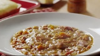 Ham Recipes - How To Make Bean And Ham Soup