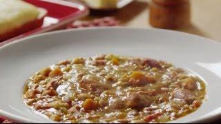 Ham Recipes - How to Make Bean and Ham Soup