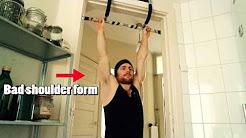 Shoulder-blade Depression & Retraction (for Pull-ups)