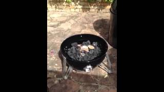 Setting Up Weber Smokey Mountain For First Cook