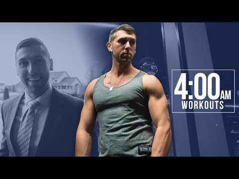 How I Workout at 4 AM | My Secrets To Waking Up Early For Over 5 years