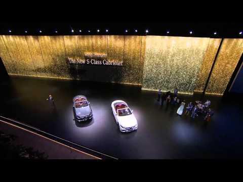 Frankfurt Motor Show 2015 - Mercedes-Benz World premiere S-Class Cabriolet | AutoMotoTV