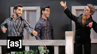 Lex Luthor Meets Property Brothers | Robot Chicken | Swim