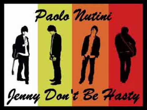 Paolo Nutini   Jenny Don't Be Hasty