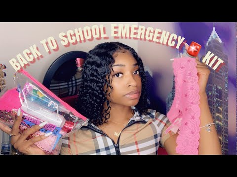Everything You Need In Your Back To School Emergency Kit 2019