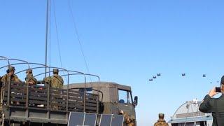 陸上自衛隊の航空機を間近で見る事が出来る木更津駐屯地の航空祭