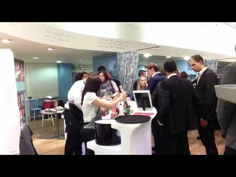 House of Fraser, James Bond mobile cocktail bar time lapse by Mambo.