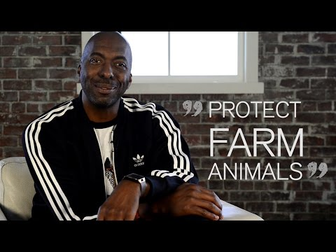 John Salley Joins with HSUS to Take a Stand for Farm Animals