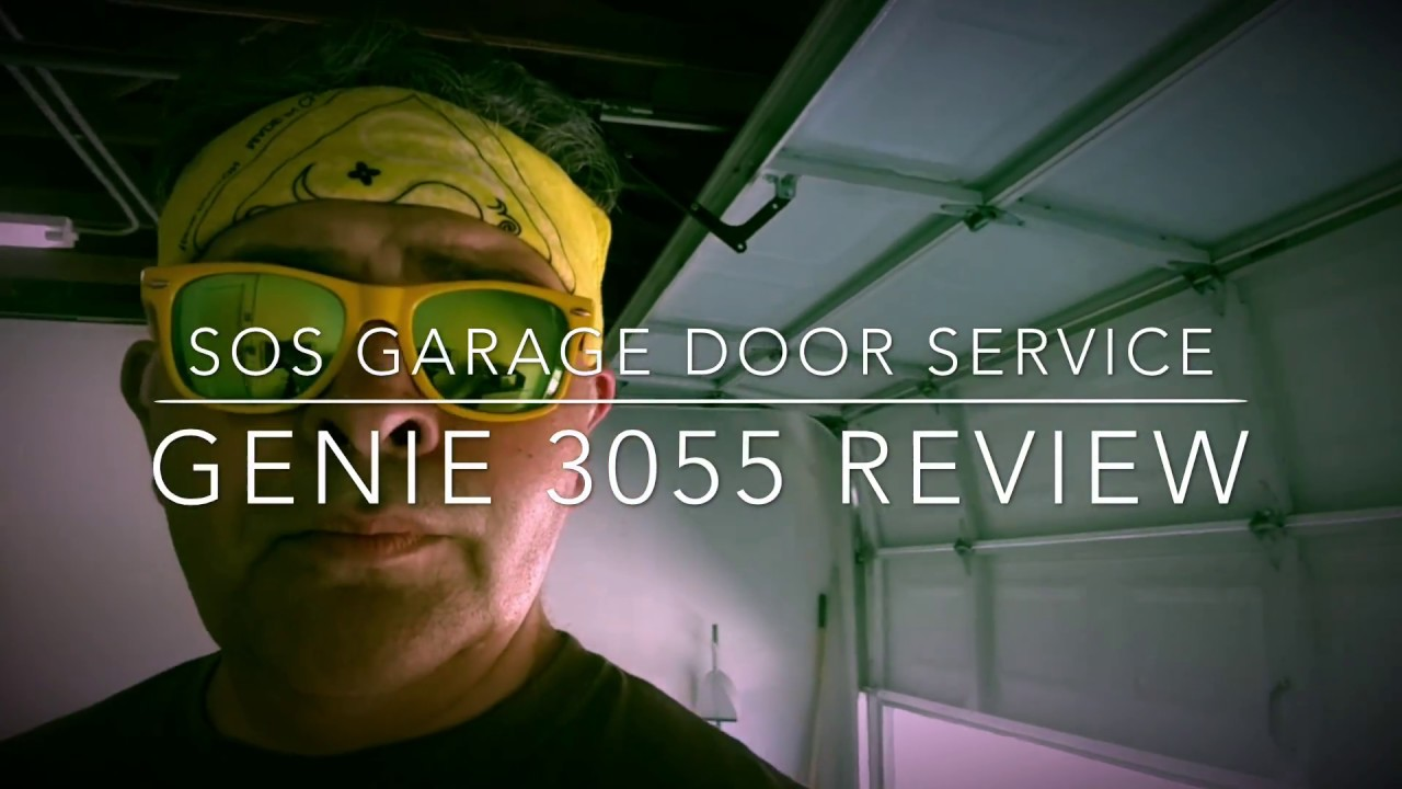 GENIE 3055 Garage Door Opener Motor Product Review   SOS GARAGE DOOR SERVICE