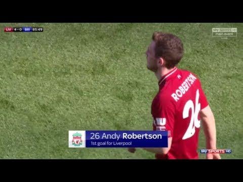 Andrew Robertson vs Brighton (14/5/2018) Home
