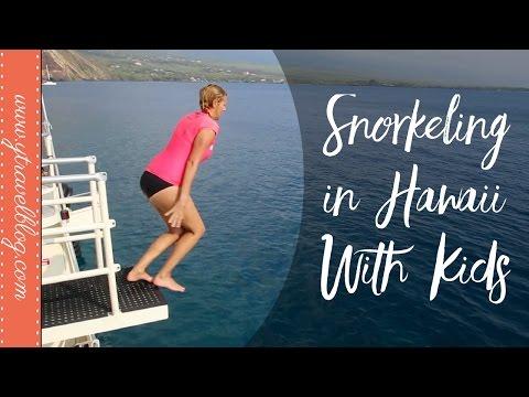 Snorkeling In Hawaii with Kids at Kealakekua Bay with Fairwind Cruises
