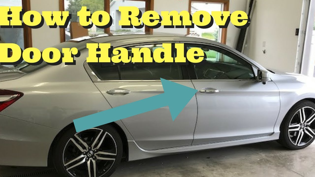 2013 2014 2015 2016 2017 Honda Accord Door Handle Removal