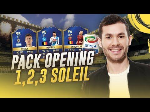 FIFA 17 - PACK OPENING TOTS SERIE A - UN, DEUX, TROIS SOLEIL !