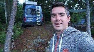 Polizei holt uns aus dem Camper!・Schweden・V2og #45