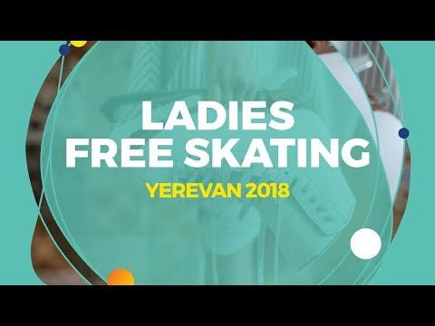Hanna Harrell(USA)   Ladies Free Skating   Yerevan 2018
