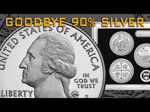 Say Goodbye To 90% Silver Coins From The US Mint! Hello 999!!