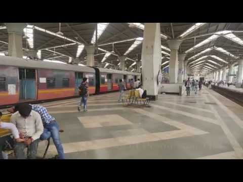 Panvel Railway Station Local Train Harbour Line Full Video.New/Navi Mumbai.पनवेल रेलवे,नवी मुम्बई