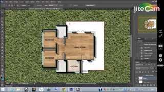 Basic Rendering Of Architectural Floor Plans Using Photoshop Tutorial. Aias-uob