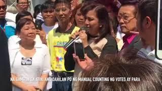 Robredo asks PET to follow Comelec threshold for shading of ballots