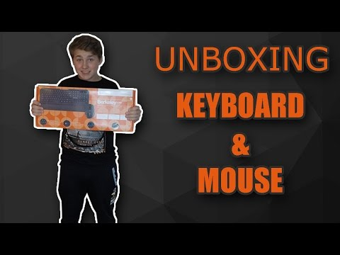 Unboxing (defender Berkeley C-925) Keyboard & Mouse!
