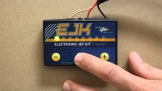 Adjusting the EJK (Electronic Jet Kit) Fuel Controller