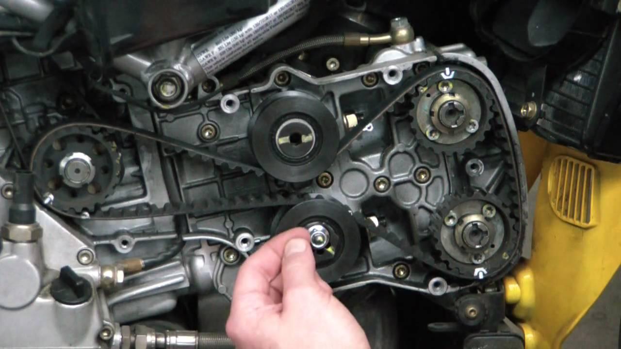 Ducatitech Ducati 749 999 Timing Belt Change Part 1