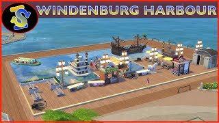 The Sims4 Building Video | Windenburg Harbour