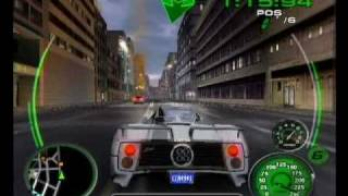 Midnight Club 3 Remix - Zonda on [Shortcuts] of Tokyo