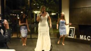 Surprise wedding rap- Whatta Man(Surprised my husband with singing and dancing to Salt n Pepa 'Whatta Man' as apart of my wedding speech. With the help of some awesome friends! Thanks to ..., 2015-12-31T03:40:47.000Z)