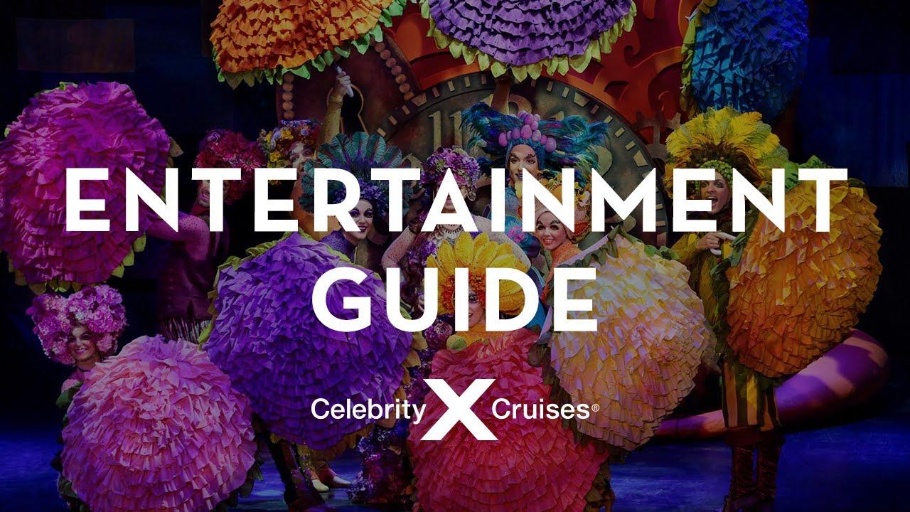 Thrilling Entertainment on Celebrity Cruises