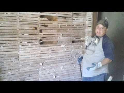DIY how to remove lath and plaster part 2 Lath