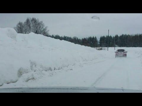 Se bilderna från några av de emst snöutsata ställena i vinter - Nyheterna (TV4)