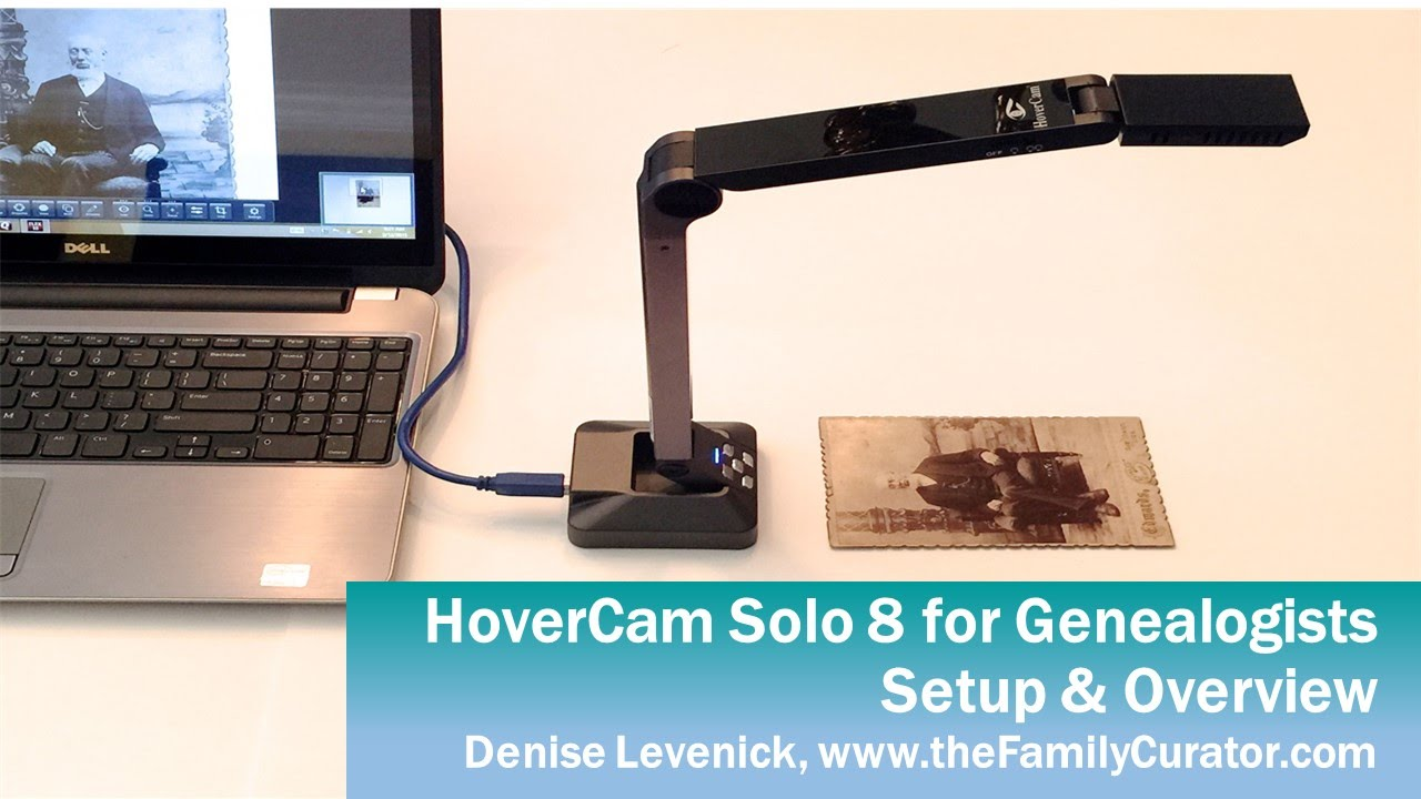 Hovercam Document Scanner Review Fast Easy Very Portable
