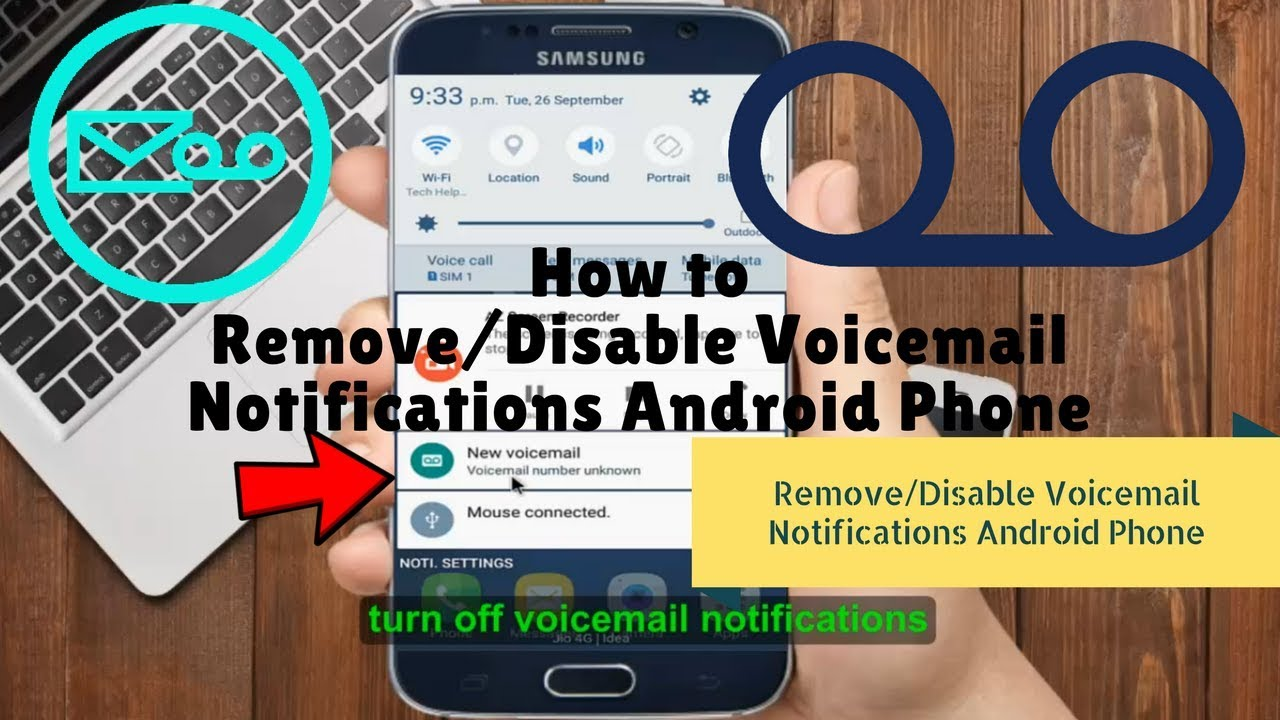 How to Remove/Disable Voicemail Notifications Android Phone